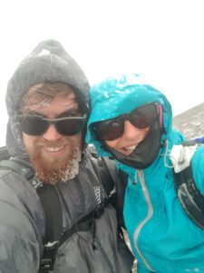 Sprachkurstester Fabio in 4000 Meter Höhe