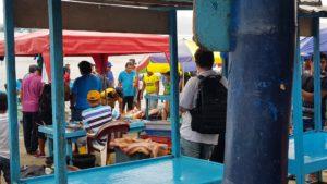 Fischerstadt Manta Ecuador